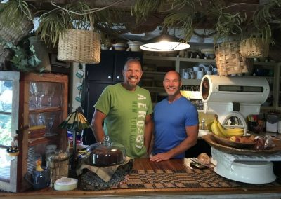 Hank & Wiley, Innkeepers at Piney Hill Bed & Breakfast and Cottages