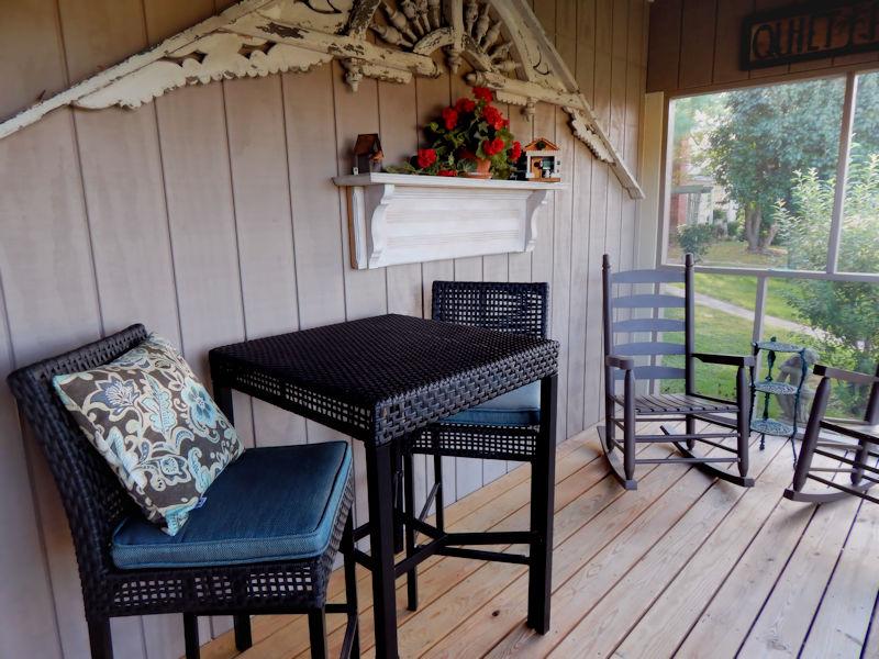 Hurley Byrd Cottage Porch