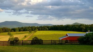 Enjoy some of the best views in Luray, VA at Piney Hill Bed & Breakfast and Cottages