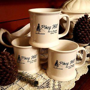 Piney Hill Logo Mugs