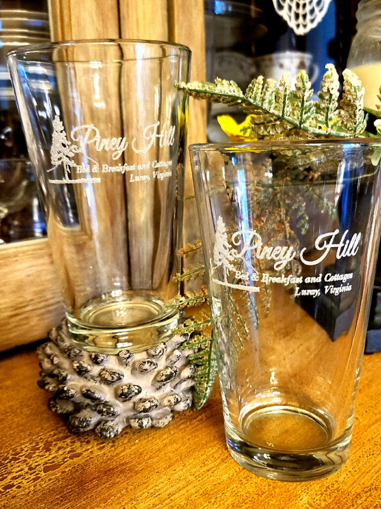 Piney Hill Beer Glass