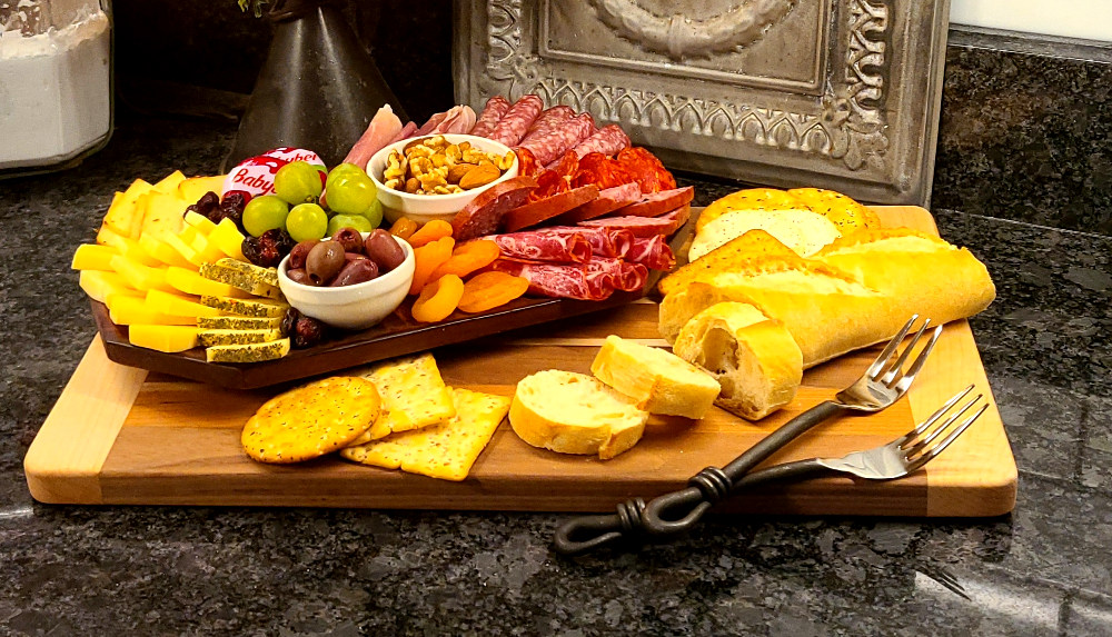 Add a Charcuterie Tray to your stay to Piney Hill Bed & Breakfast and Cottages in Luray, Virginia